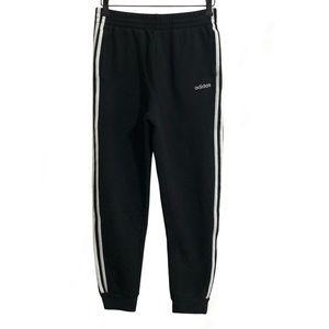 ❤️3/$30 Adidas three striped joggers. S